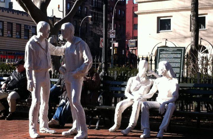 Parco urbano a Manhattan dedicato all'amore omosessuale
